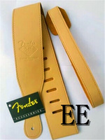 2PCS/SET Yellow brand guitar strap, widening, folk guitar straps, electric guitar, electric bass strap free shipping