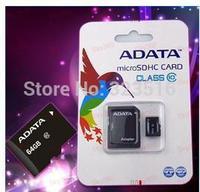 new2015Real capacity ADATA Micro SD Card 64GBClass 10 memory card 64GB Micro SD Card SDHC TF Memory Card 64gb