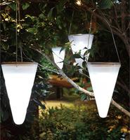Solar lights, rechargeable green light control, tent camping lights, waterproof LED bulb,outdoor yard  Garden lamp