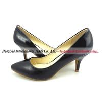 2015 New Fashion Women Pumps 75mm Thin Heel Pointed Women Fashion High Heels Bottom PU Leather Sexy Women Shoes