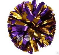 Football Cheerleading Poms Handle Football Cheerleader Flower Dance Props  50pcs/lot