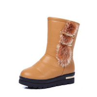Ladies Winter Snow Boots,Classic High Top Feather Women Boots 2015 Female Plush Shoes Woman HSD39