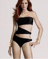 New Arrival 2014 Sexy Women Bikinis Bra Padded Bikini Strap Halter Swimwear Womens Swimsuit free shipping