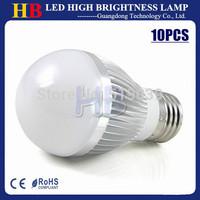 10X Free Shipping E27 E14 B22 Base Dimmable 9W 12W 15W AC110V 220V Energy-Saving Lamp LED Ball Bulb Lamp Nature/Warm/Cool White