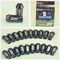 20 PCS Black Racing Sports Wheel Lug Nuts M12 X1.25MM Fit For Nissan Suzuki VN