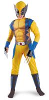 Wolverine suit / muscle Wolverine (children) cosplay costume