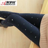 Autumn and winter plus velvet thickening cotton colorful legging plus size high waist winter 2014 women's step