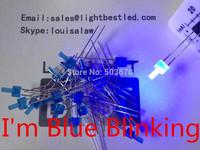 2mm tower Blue Blinking LED LBT28B2D-Flashing Blue Diffused