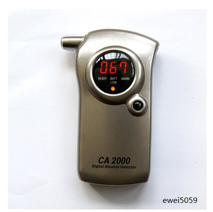 Handheld Alcohol detector Portable Alcohol measurement instrument Detecting instrument drivers alcohol content High-precision(China (Mainland))