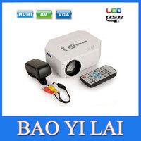 LED mini Proyector HDMI Digital Video Game Projecteur Portable Multimedia player VGA AV SD USB Home Cinema beamer UN IC UC30