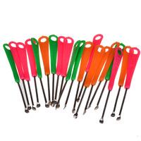 Free shipping  5PCS/Lot ear cleaner earwax spoon clean flashlight earpick handle