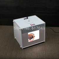 D23 Easyshooting 236*212*217 mm 4pcs LED strips Portable Kit Photo Photography mini Studio led photo Light Box Softbox