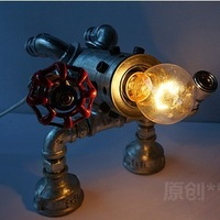 Quality Creative Novelty Full Metal Without Lampshade Beside Table/Desk/Reading/Study Lamps/Lights Indoor Lighting Fixtures