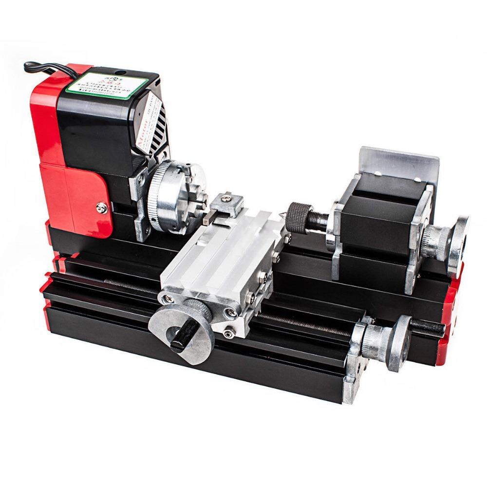New CNC Metal Motorized Mini Lathe Machine For DIY / Making Model(China (Mainland))