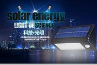 Solar Motion Sensor Outdoor Lighting Super Brightness 400lm 3.5W Solar Powered Panel LED Wall Lamps Garden Path Street Lights