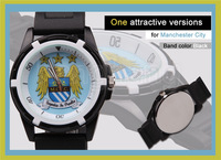 free shipping Wholesale Premier League Club Watch soccer Football Fan Souvenirs Man sports watches
