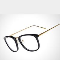 2015 New Metal Brand Designer Women/men Eyewear Eyeglasses Spectacles Optical myopia Frame Glasses Oculos De Sol