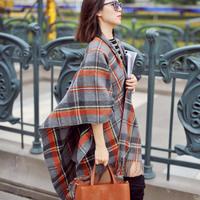 Imitation cashmere scarf super thickening tassel wool cashmere lady joker warm big squares scarf shawl