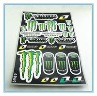 Sticker set for dirt bike/ATV-Quads/Mini motor/Go Kart/Jet Ski/Skateboard sports etc/Factory Wholesale/Free shipping