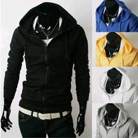 2014 Hot Casual Men's Jacket Baseball Fashion Jackets Hoodies Cardigan Coat Male Outwear Jackets Free Shipping M2RP 5 colors