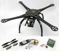 S500 Quadcopter Frame Kit (Black ) W/ KK2.15 Flight Controller XXD 2212 1000kv Motor 30A Simonk