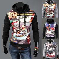 Men Jacket Top Brand Men Dust Coat Hoodies Clothes Sweater Overcoat Outwear Patchwork Pullovers M,L,XL,XXL A3200709