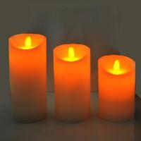 1Pcs Simulation rocking candle LED Electronic Flameless Smokeless Candle Light Size 12.5cm/15cm/17.5cm can be Choose