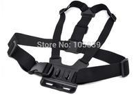 Black Harness Adjustable Chest Body Belt Strap Mount for Gopro HD Hero 1/2/3/3+/4 Camera SU Accessories 200PCS/LOT
