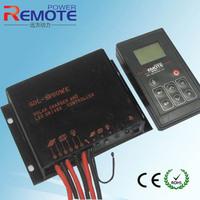 New design Waterproof solar Charge controller 12V 24V battery charge regulator More Intuitive led light