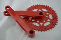 Multi-color 44T Single Speed Bike Crankset Thicken MTB Road Bicycle Chain Wheel 170mm Crankset Crank Bicycle Acceaaories AYD57