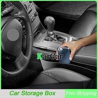 1Pair Car Seat Pocket Automobile Storage Box, Car Seat PP Stowing Tidying Black/Beige Garbage Bucket
