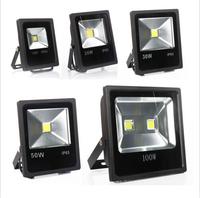 (DHL/Fedex Free shipping) 85V-265V 10W 20W 30W 50W 70W 100W 120W 150W 200W LED Floodlight Outdoor landscape LED Flood light lamp
