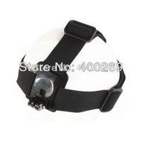 Elastic Adjustable Head Strap For GoPro Hero 4/3+/3/2/1/SJ4000 Head Strap Black GP24