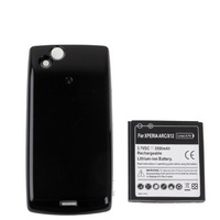 High quality For Sony Ericsson  Arc LT15i / X12 Newest 3500mAH Mobile Phone Battery & Cover Back Door Free shipping