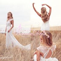 Vestido De Noiva Curto Beach Designer Wedding Dress Custom Made Vestido Novia Celebrity Bride Wedding Gowns 2015 Cheap Hot Sale
