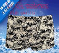 2015 Male panties 100% Ice silk underwear boxers panties comfortable breathable men's panties underwear shorts boxer