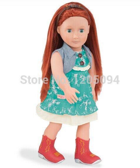 """Doll Clothes doll accessories,cowgirl outfit for 18""""inch American Girl wear american girl doll accessories free shipping(China (Mainland))"""