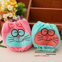 Children Korean fashion ladies embroidered sleeve baby cuff sleeves baby cartoon cat Doraemon antifouling protection sleeve