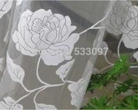 White high quality window screening tulle curtain balcony window screening decorative door curtain yarn