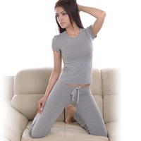 Fashion   women's pajamas set, women cotton clothing set,sweet female lady twinset nightwear sleepwear /Sport suit  /Yoga suit