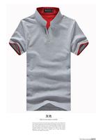 Special offer 2014 NEW fashion Korean Men's Slim short-sleeved polos shirt man cotton Casual shirts