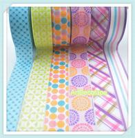10rolls 6patterns tapes decoration tape decoration sticker handmade decoration paper tape