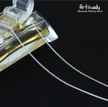 Artilady 925 стерлингового серебра колье ожерелье мода ручной работы женщин серебряная ...