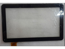 New Replacement 10.1 Inch Touch Screen Digitizer  Touch Screen Panel For YCF0464-A YCF0464 Color Black