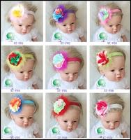 2pcs selling Promtion 2015 new baby Headband Set baby hair headband free shipping