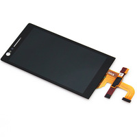Black LCD  touch screen digitizer assembly For Sony Xperia P LT22i BA245 T15 ,Free shipping!!