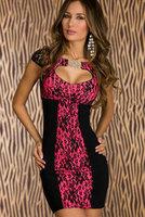 Good quality Roseo Retro Floral Lace Keyhole Bodycon Mini Dress high street vestido de praia winter dress women dress WFD010