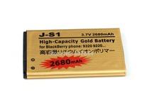 DHL  shipping 100pcs/Iot  Gold 2680mAh Battery For  BlackBerry Curve 9315 / 9320 JS1 J-S1