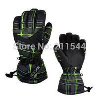 2015 New brand men's ski gloves Snowboard gloves Snowmobile Motorcycle winter gloves Windproof Waterproof unisex Warm gloves