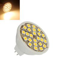 5 pcs/Lot _ MR16 5W Warm White 24 SMD 5050 Energy Saving LED Spot Light Bulb 12V